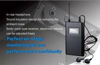 4pcs/lot TAKSTAR WPM-200 single receiving (including earphone) Professional Wireless Monitor System receiver Original wholesale