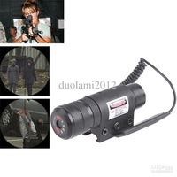 Good!Free shiping! - Tactical 630~680nm 100x30mm Red Laser Beam Pointer Sighting Telescope for Guns (Black