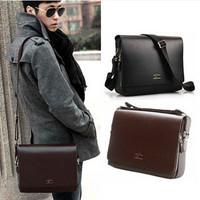 2014 New Arrival Fashion Bag Men Leather Bags Messenger Bag Man Brand Kangaroo Shoulder Bag Vintage IPAD Laptop Bags School Bags