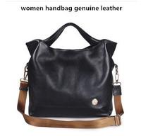 women leather handbags designer vintage shoulder bags high quality leatherblack bag