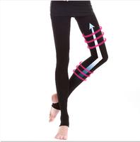 Spring/Autumn design ~ 1200D Lycra Slimming Leg Fat Burning Leg Shape Slender Legs Carry Buttock Belly In Hip Training Pants