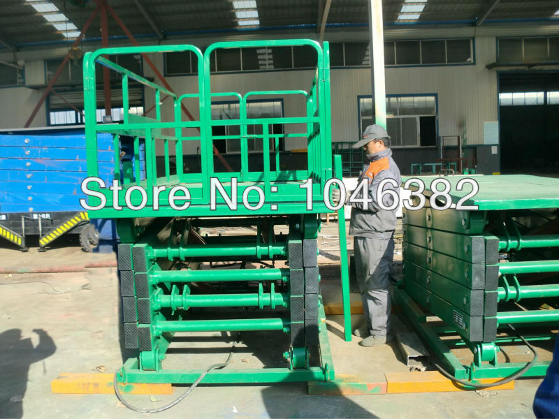 Shengyuan Stationary Cargo Scissor Table Lift(China (Mainland))