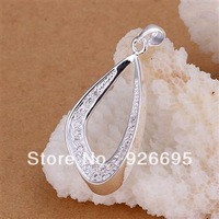 JP235 lowest price wholesale fashion jewelry chain necklace 925 sterling silver Pendant Insets seeds fall /bowakgdasx