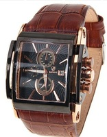 Bowdex watches badace genuine leather calendar male table large dial table