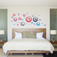 The third generation wall stickers shoreless transparent film sofa background wallpaper eco-friendly