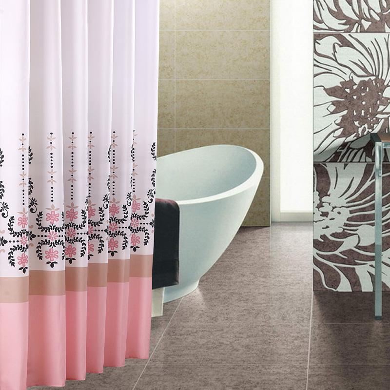 Cortinas De Baño Impermeables:cortina de ducha impermeable engrosamiento bola baño personalizar de