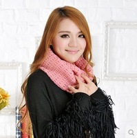 Free Shipping 2013 Korean version of the solid color wool scarf Japanese Korean couple models collars scarves