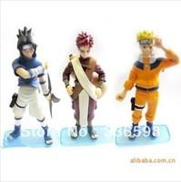 Free shipiping Cartoon collectibles / Naruto Characters doll model / delicate garage kit 4th 3pcs/set