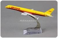 Freeshipping Freeshipping Dhl boeing b757 16cm alloy model Toys for children&boys&Kids