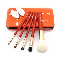 1 set beauty ZOREYA 5pcs cosmetic brush set for women professional high quality make up brushes set travel kit