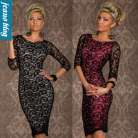 spring 2014 Hot Fashion Sexy Women casual Sheath bandage Dress New Arrival Winter women clothing flower dress YDY N129