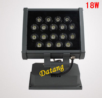 High quality LED Flood Light 18W 85-265V 100lm/w Warm white/White Waterproof IP66 18*1w outdoor led spotlight,DHL free shipping
