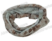 Airsoft Tactical Multifunctional Quick Drying Scarf Half Face Mask AOR1 shawl wrap free shipping