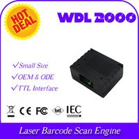 Plastic caseindustrial protect TTL  WDL2000 OEM/ODM 1D Laser embedded integrate bar code Barcode Reader Scanner Module Engine