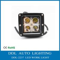 16W LED WORK LIGHT FOR OFFROAD,Spot LED WORK LIGHT LAMP 12V24V ATV BOAT Truck SUV 4WD UTV,4X4CREE LEDS Fog Lamp Kit