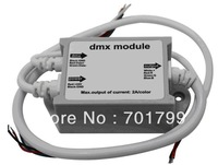DMX constant voltage decoder & module;DC24V input;max 2A*3channel output