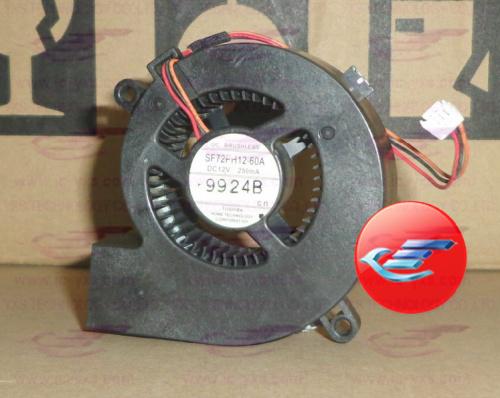 TOSHIBA projector fan SF72PH12-60A DC12V 250mA(China (Mainland))