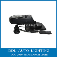 Wholesales Price,HID search light remote control 12V/24V 35W portable light. wrieless remote conatrol HID Search Light