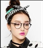 Women's Myopia Eyeglasses Frame With Lenses Optical Glasses Eyewear round  Frames glasses optometrist can change the glass