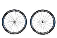 U Shape 25mm Wide Carbon Wheels Clincher 50mm Road Bike Wheelset + Ceramic Bearings + Sapim Cx- Ray Spokes + Straight Pull Hubs