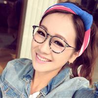 2014 Special Offer Direct Selling Women Vintage Plain Mirror Female Fashion Round Box Glasses Frame Eyeglasses Myopia Male