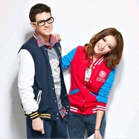 New Fashion knitting WT-5 spring-autumn coat for women men cozy baseball uniform clothes wholesale and retail FREE SHIPPING