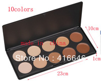 Free Shipping Fashion 10 Color Makeup Cosmetic Blush Blusher Powder Palette