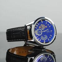 Men's FUYATE Mechanical Digital Wrist Watch  Low Cost Black men  gift watch  free shipping