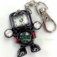 Robot clock key chains USB 2.0 Enough Memory Stick Flash pen Drive 2gb/4gb/8gb/16gb/32gb