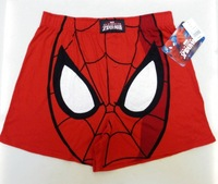 Spider-man cartoon male loose panties aro pants at home