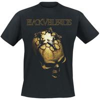 Free shipping New arrival 2013 black veil brides bvb heavy metal band fashion t-shirt