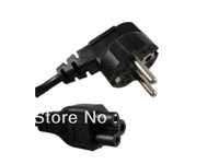 US/UK/EU/AU 3 PRONG AC LAPTOP POWER CORD FOR DELL IBM COMPAQ HP 4ft 1.2M