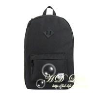 Herschel heritage black PU hognose double-shoulder backpack black hdbk1401