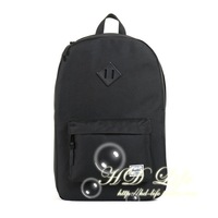 Herschel heritage black PU hognose double-shoulder backpack black hdbk1401
