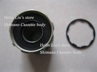 Replacement shiman cassette body for Novatec hub and Powerway hub