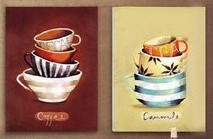 Картина Pure hand painting oil painting adhesive hook paintings picture frame decorative painting cup