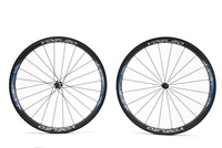 U Shape 25mm Wide Carbon Wheels 700C Clincher 38mm Road Wheelset + Ceramic Bearings + Sapim Cx- Ray Spokes + Straight Pull Hubs