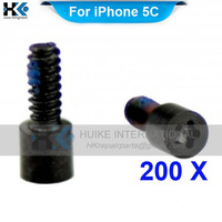 200 pcs For iPhone 5C Bottom Screw Replacement Spare Parts Free Shipping