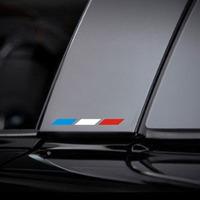 2014 New Arrival Wholesale Price Color Garland Peugeot Citroen Renault Column Reflective Car Stickers B Decoration Drop Shipping