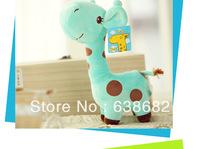New 2014 ,Cute giraffe plush soft stuffed toys , free shipping !