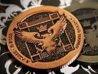Free shipping the magic props Ellusionist_Artifact Coins Magic Tricks