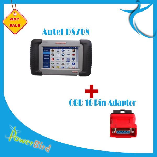 Autel MaxiDAS DS708 Plus DS 708 OBD 16 Pin Adaptor(China (Mainland))