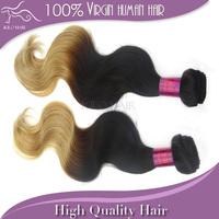 Mix length 2 bundles malaysia remy hair body wave 14inch-24inch 5A grade ombre color Malaysian human hair virgin