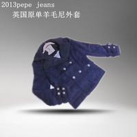 Pepe jeans female short wool jacket fashion
