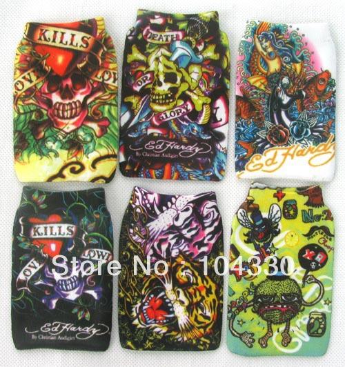 Wholesale -12 pcs/lot KILLS MP3/MP4/ mobile case Protection cell phone bag soft Socks(China (Mainland))