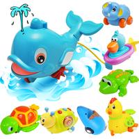 Bathroom toy spray infant baby bath toys wind up toys kids bath toys