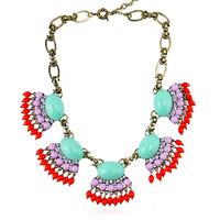 New Arrival brand jewelry necklaces 2014 women crystal collar fashion statement necklace XL0018