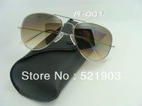 classic name brand fashion sunglasses men women sun glasses with logo Gradient color lens 6 color options