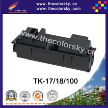(CS-TK17) BK print top premium toner cartridge for Kyocera TK 17 18 FS 1050 118 118MFP KM 1500 1850 (6k pages)