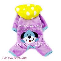 Purple Color Pet Dog Jumpsuitr,Soft and Comfortable Pet Dog Clothes